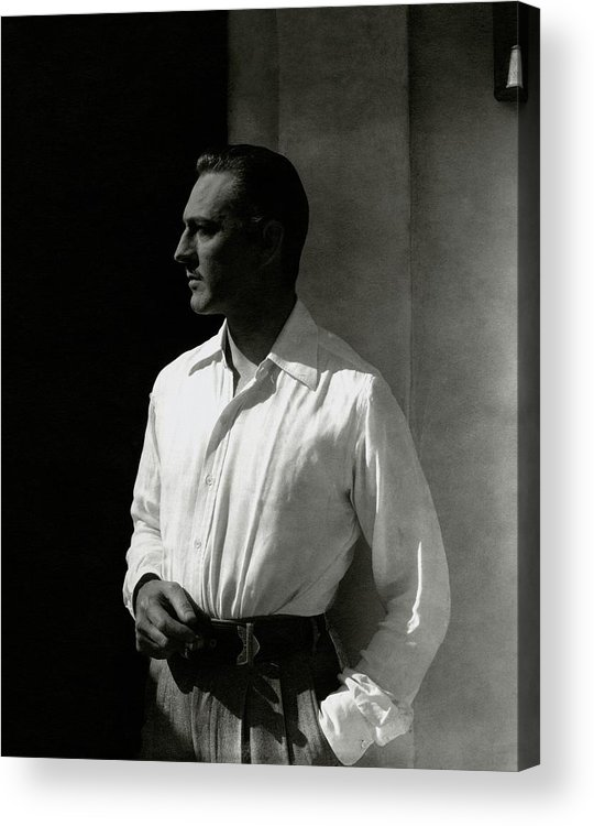 Actor Acrylic Print featuring the photograph Portrait Of John Barrymore by Edward Steichen