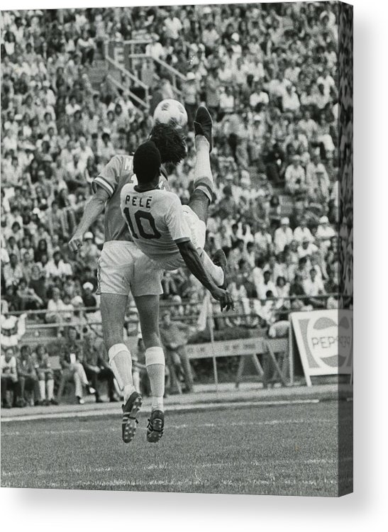 classic Acrylic Print featuring the photograph Pele by Retro Images Archive