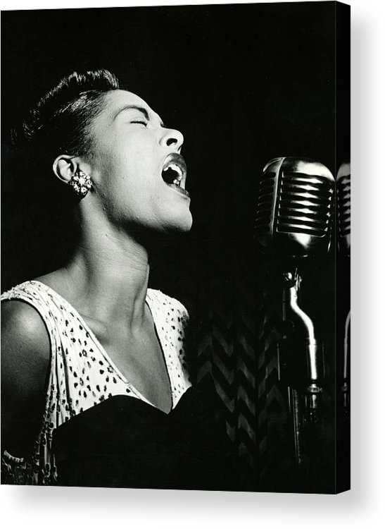 classic Acrylic Print featuring the photograph Billie Holiday by Retro Images Archive