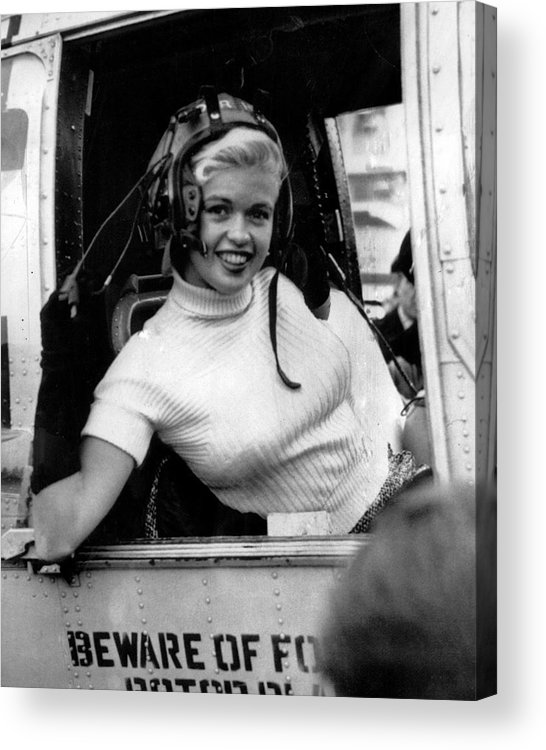 classic Acrylic Print featuring the photograph Jayne Mansfield by Retro Images Archive