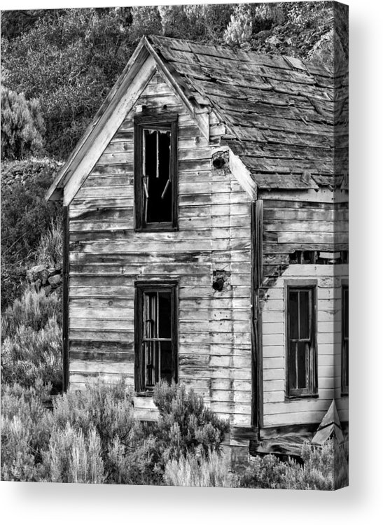 2013 Acrylic Print featuring the photograph Abandoned Farmhouse - Alstown - Washington - May 2013 by Steve G Bisig