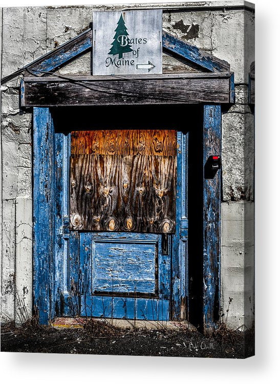 Bates Acrylic Print featuring the photograph Bates Of Maine by Bob Orsillo