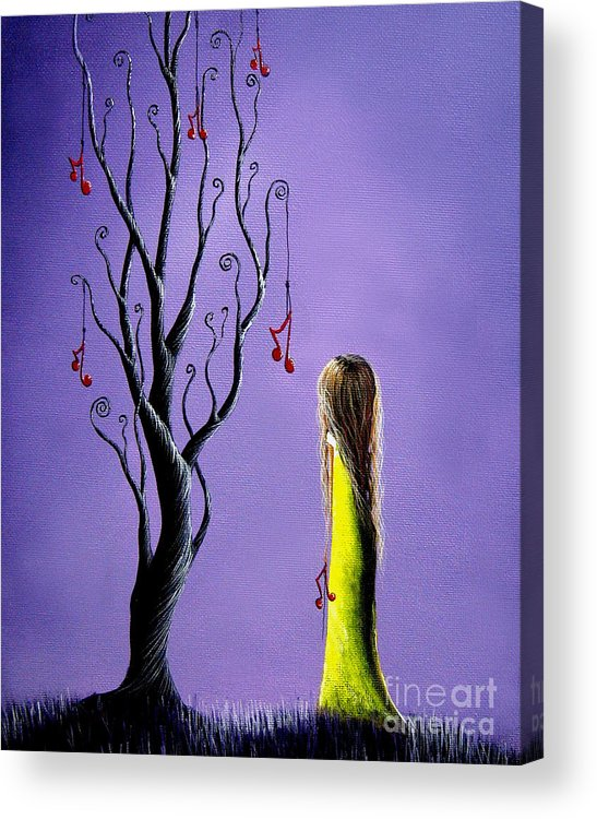 Surreal Acrylic Print featuring the painting Five Wishes Left By Shawna Erback by Artisan Parlour