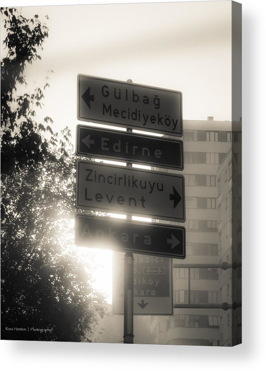 Istanbul Acrylic Print featuring the photograph Foreign Lands by Ross Henton