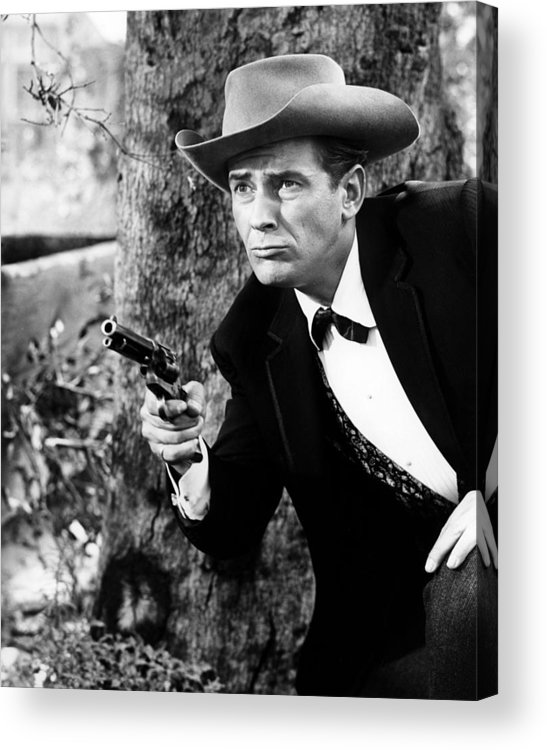 Maverick Acrylic Print featuring the photograph Jack Kelly In Maverick by Silver Screen