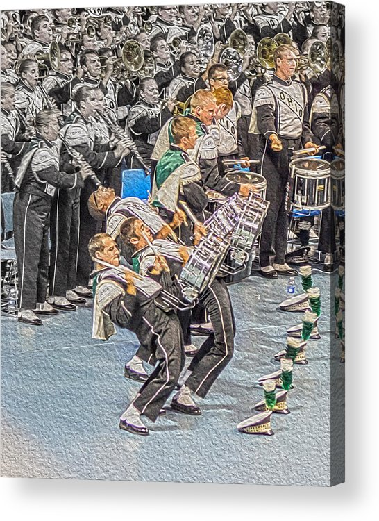 Ohio Drum Line Acrylic Print