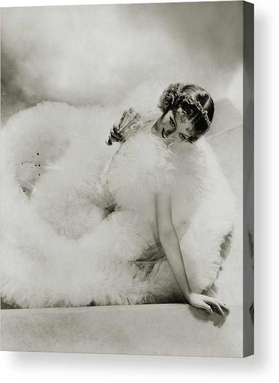 Actress Acrylic Print featuring the photograph Portrait Of Loretta Young by George Hoyningen-Huene