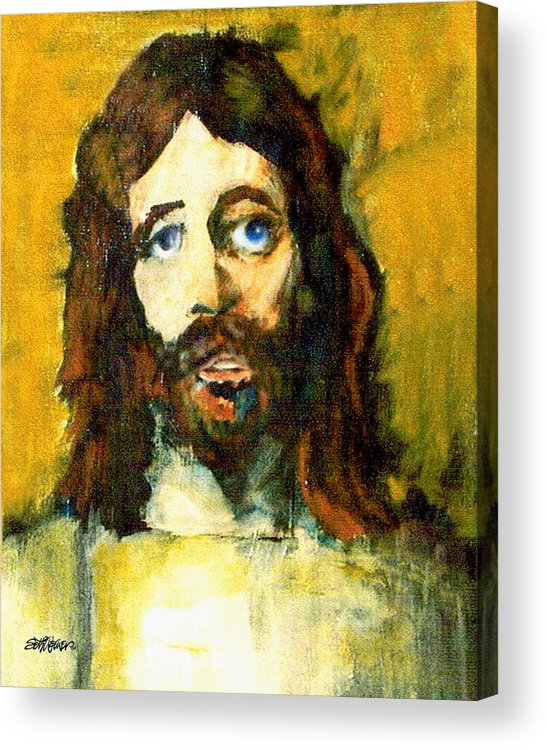 Jesus Christ Acrylic Print featuring the painting The Galilean by Seth Weaver