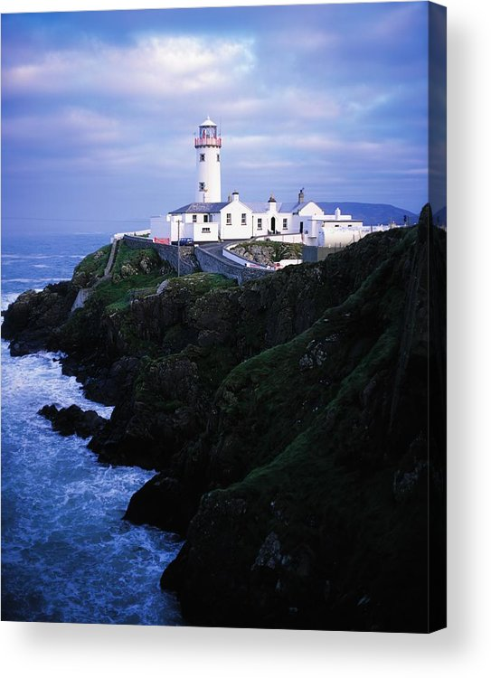 Co Donegal Acrylic Print featuring the photograph Fanad Lighthouse, Fanad Head, Co by The Irish Image Collection