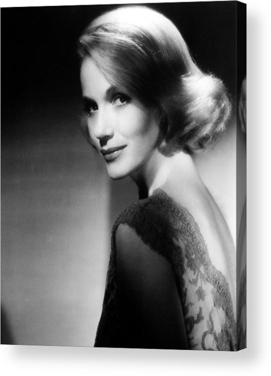 1950s Portraits Acrylic Print featuring the photograph North By Northwest, Eva Marie Saint by Everett