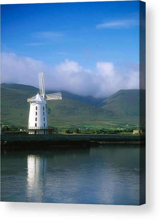 Blennerville Windmill Acrylic Print featuring the photograph Blennerville Windmill, Tralee, Co by The Irish Image Collection