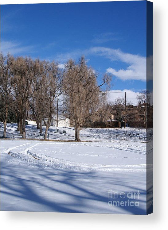 Colorado Acrylic Print featuring the photograph Cold Park by Jack Norton
