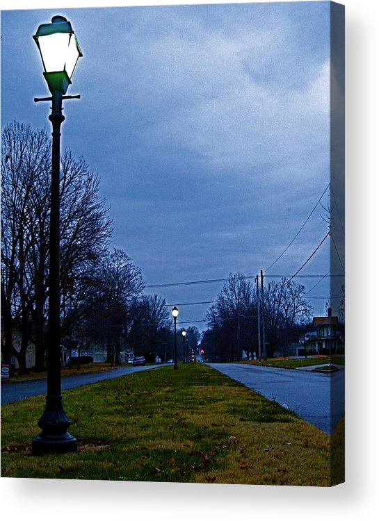 Iowa Acrylic Print featuring the photograph Cool Boulevard by Big Mike Roate