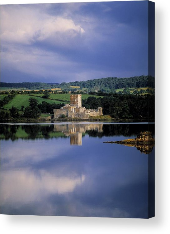 Travel Destination Acrylic Print featuring the photograph Doe Castle Near Creeslough In County by The Irish Image Collection