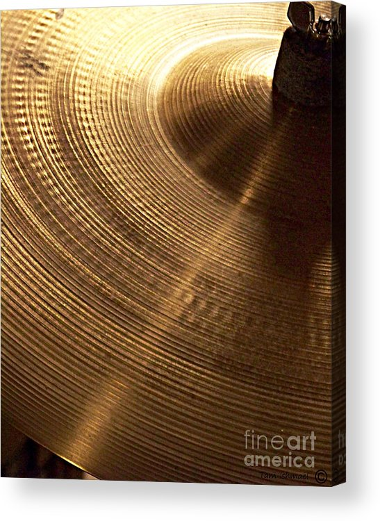Drums Acrylic Print featuring the photograph Drummers Music by Tammy Ishmael - Eizman