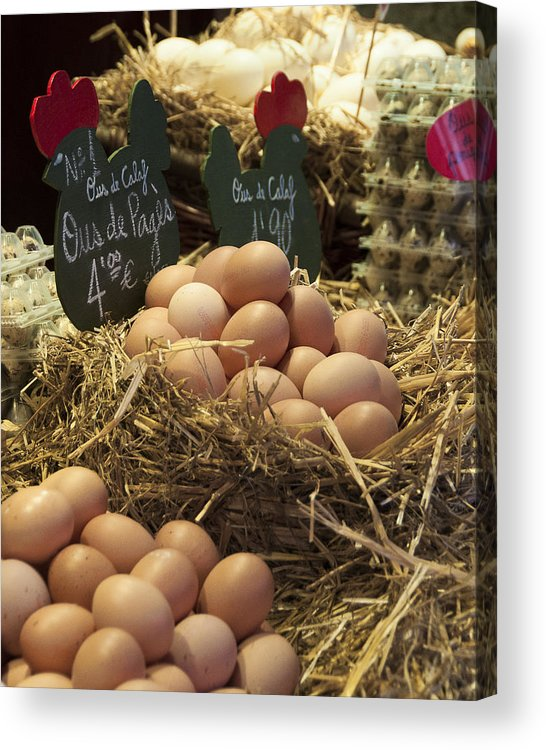 Eggs Acrylic Print featuring the photograph Fresh Eggs by Cindy Garwood