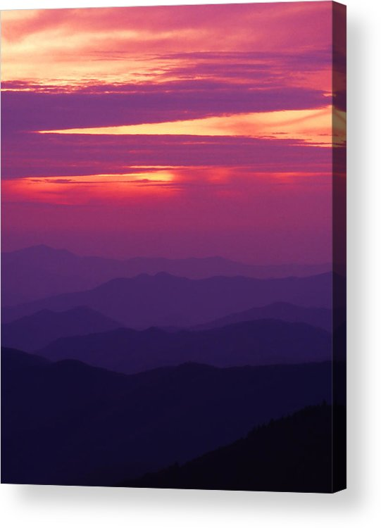 Sunrise Acrylic Print featuring the photograph Good Morning America by Harold Rau