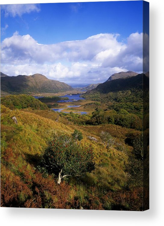 Cloud Acrylic Print featuring the photograph Ladies View, Killarney, Co Kerry by The Irish Image Collection