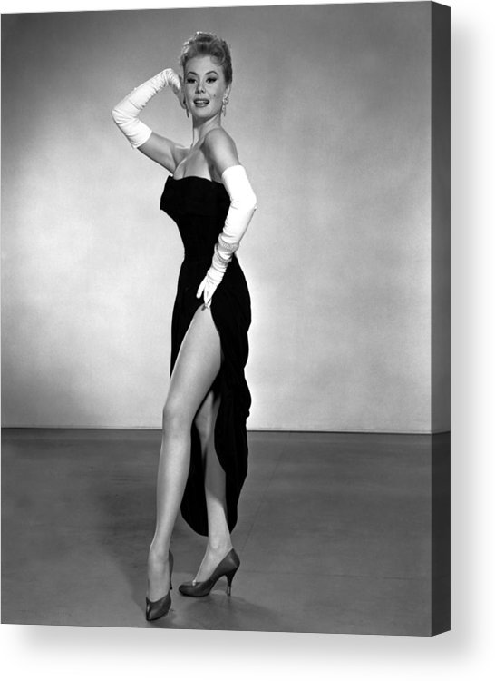 1950s Portraits Acrylic Print featuring the photograph Les Girls, Mitzi Gaynor, 1957 by Everett
