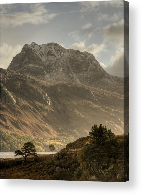 Scotland Acrylic Print featuring the photograph Morning Glory by Colette Panaioti