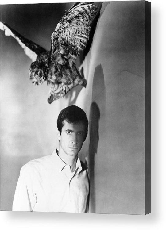 1960 Movies Acrylic Print featuring the photograph Psycho, Anthony Perkins, 1960 by Everett