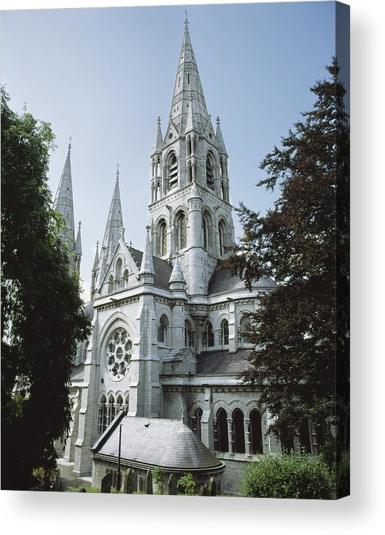 Architectural Exteriors Acrylic Print featuring the photograph Saint Finbarres Cathedral, Cork City by The Irish Image Collection