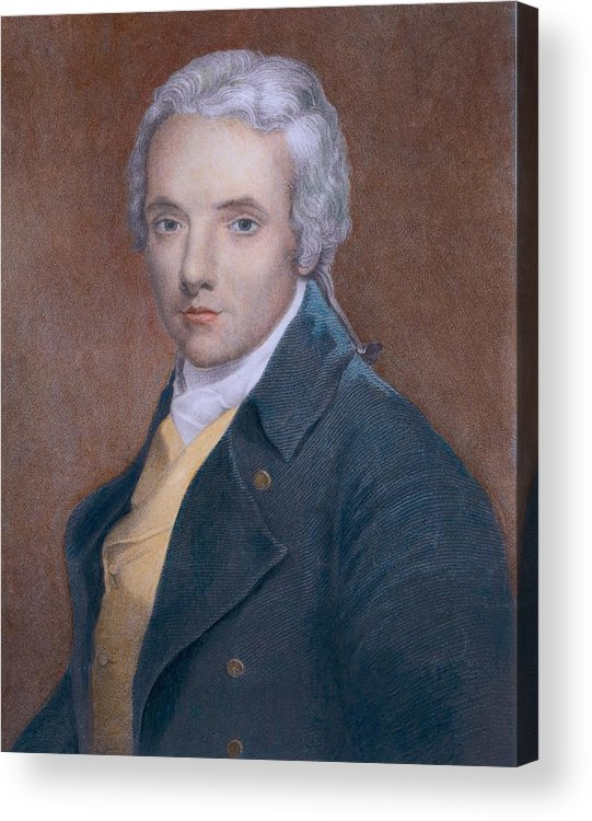 History Acrylic Print featuring the photograph William Wilberforce 1759-1833, British by Everett
