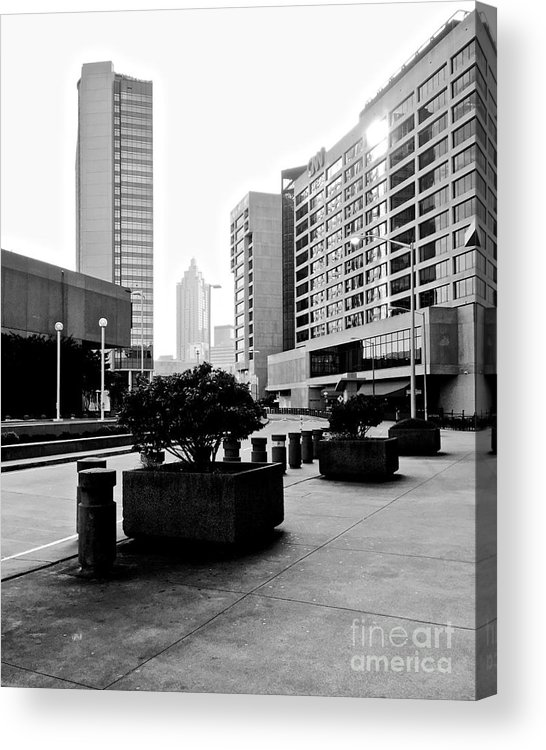 Cnn Acrylic Print featuring the photograph 09032015018 by Debbie L Foreman