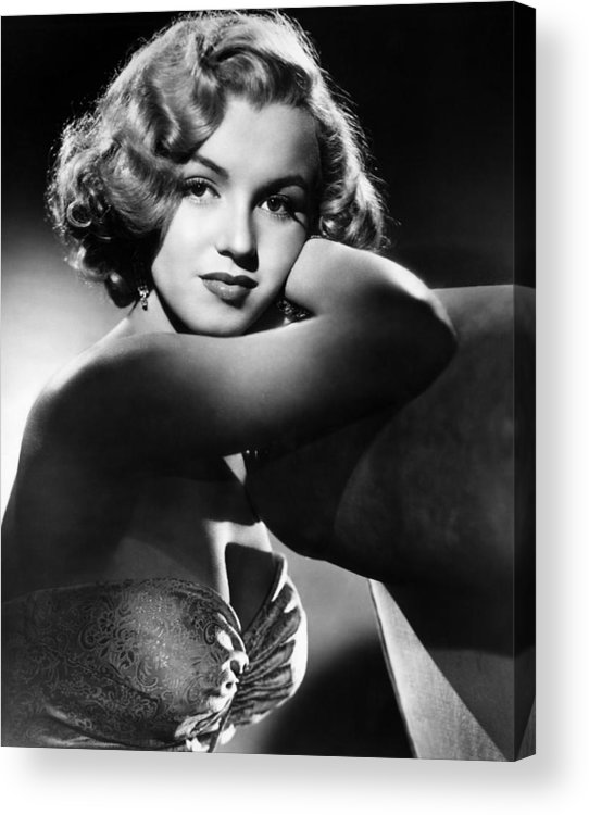 1950 Movies Acrylic Print featuring the photograph All About Eve, Marilyn Monroe, 1950 by Everett