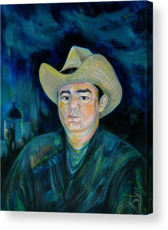 Not Eduardo Acrylic Print featuring the painting Not Eduardo by Anna Duyunova