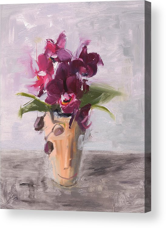 Still Life Acrylic Print featuring the painting Rcnpaintings.com by Chris N Rohrbach