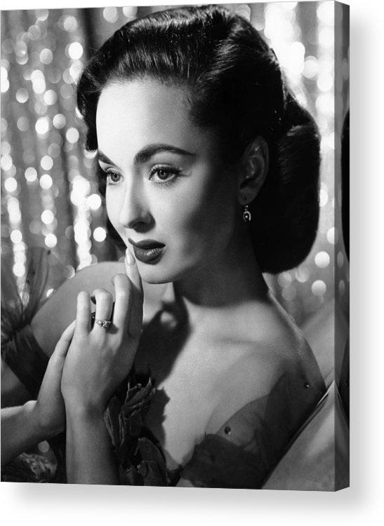 1950s Portraits Acrylic Print featuring the photograph Ann Blyth, Ca. 1950s by Everett