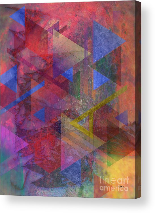 Another Time Acrylic Print featuring the digital art Another Time by John Beck