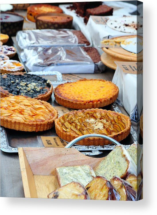 Pies Acrylic Print featuring the photograph Artisans Market 7806 by PhotohogDesigns
