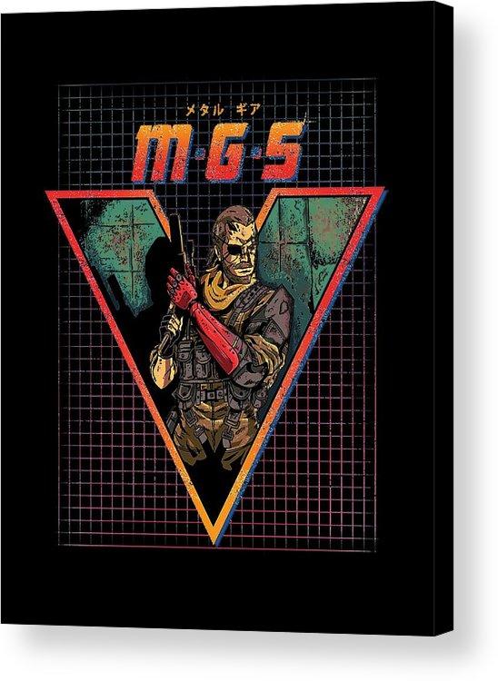 Metal Acrylic Print featuring the digital art Big Boss by Dono Iiin