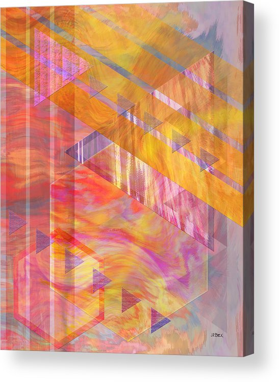 Affordable Art Acrylic Print featuring the digital art Bright Dawn by John Beck