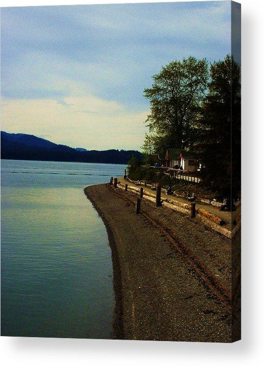 Alaska Acrylic Print featuring the photograph Calm Shores by Kate Bentley