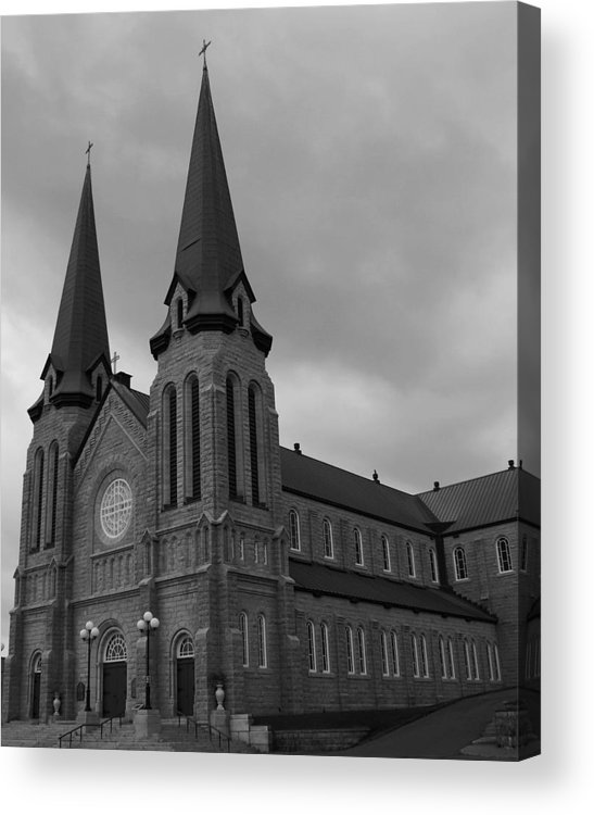 Cahedral Acrylic Print featuring the photograph Cathedral by Lisa Hebert