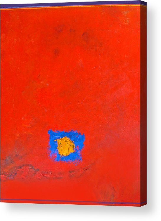 Abstract Acrylic Print featuring the painting Do It Yourself by Dale Witherow