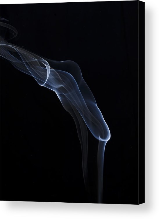 Smoke Acrylic Print featuring the photograph Fire by Bryan Steffy