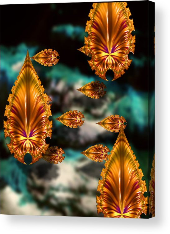Bold Acrylic Print featuring the photograph Graphic Number One by Roger Soule
