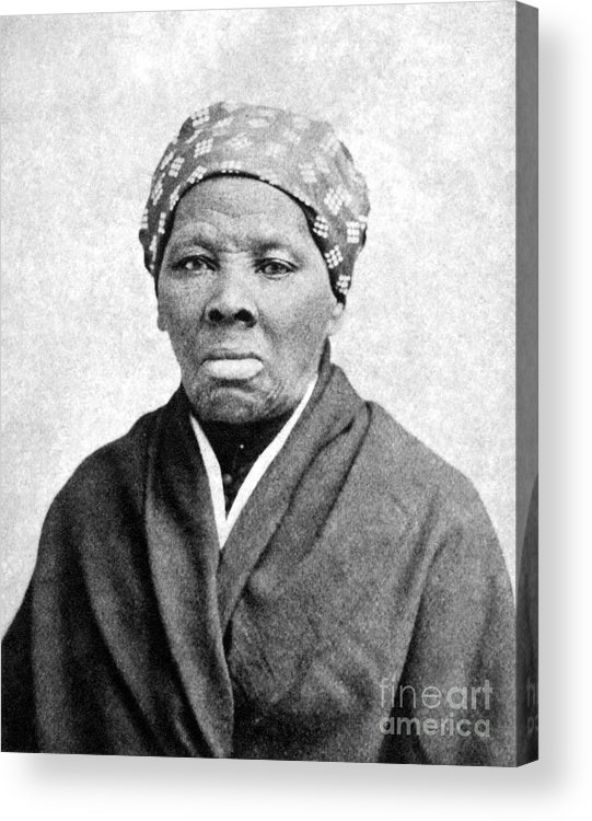 1895 Acrylic Print featuring the photograph Harriet Tubman (1823-1913) by Granger