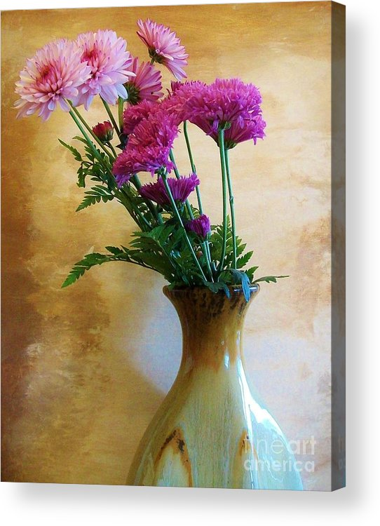 Photo Acrylic Print featuring the photograph Heavenly Pinks by Marsha Heiken