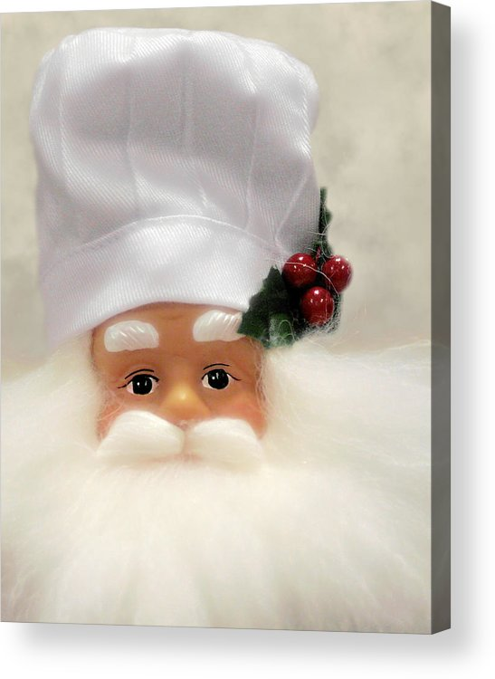 Kitchen Acrylic Print featuring the photograph Heaven's Chef by Christine Till