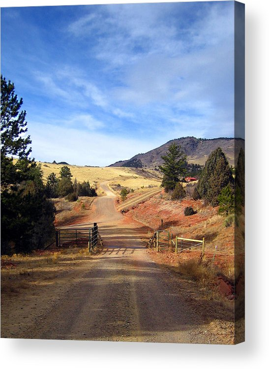 Landscapes Acrylic Print featuring the photograph Home On The Range by Julie Magers Soulen