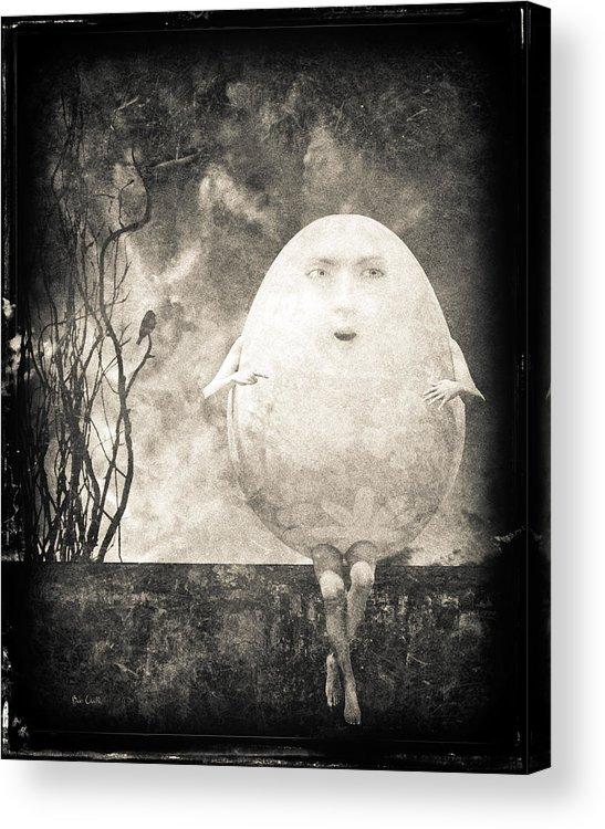 Humpty Dumpty Acrylic Print featuring the photograph Humpty Dumpty by Bob Orsillo