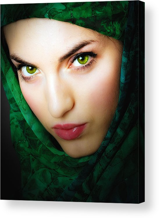 Acrylic Print featuring the photograph Jade by Neil Shapiro