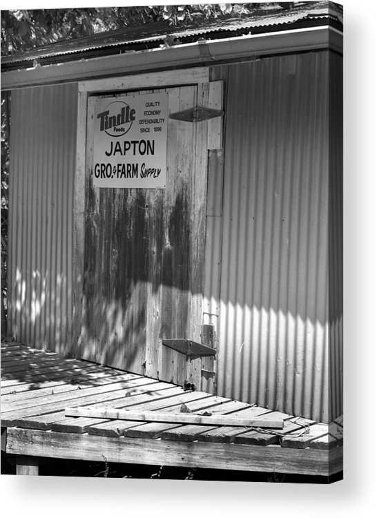 Acrylic Print featuring the photograph Japton2 by Curtis J Neeley Jr
