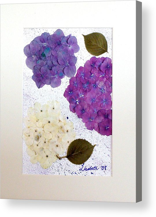 Background Acrylic Print featuring the mixed media Memories by Lisabeth Billingsley