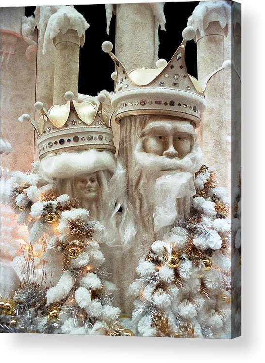 Fantasy Acrylic Print featuring the photograph Mr And Mrs Winter by Barry Shaffer